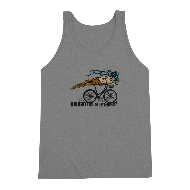 Daughters of Lethargy - Earth Tones Men's Triblend Tank by Anapalana by Tona Williams Artist Shop