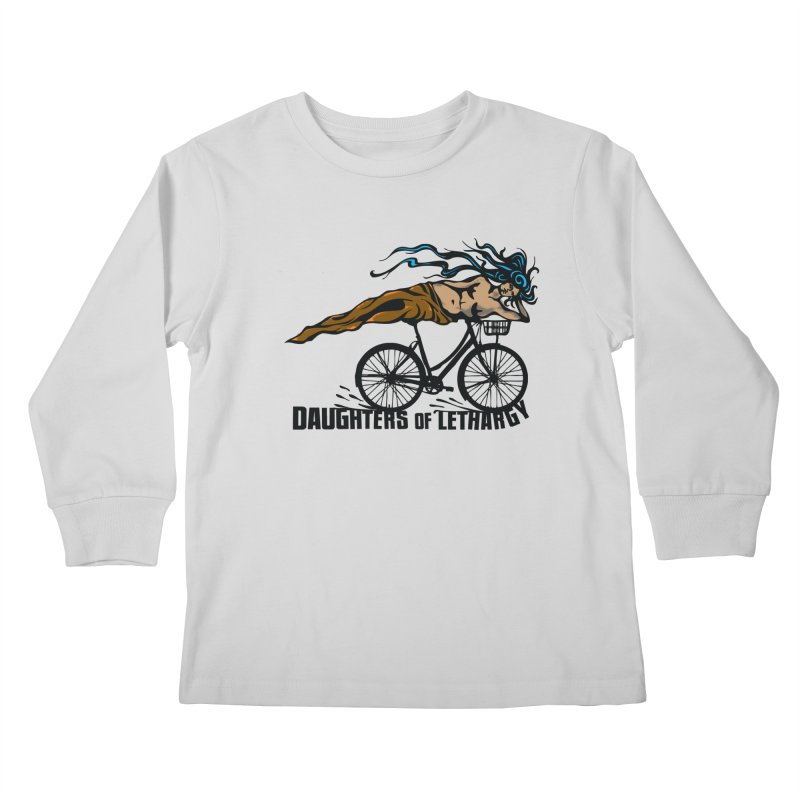 Daughters of Lethargy - Earth Tones Kids Longsleeve T-Shirt by Anapalana by Tona Williams Artist Shop