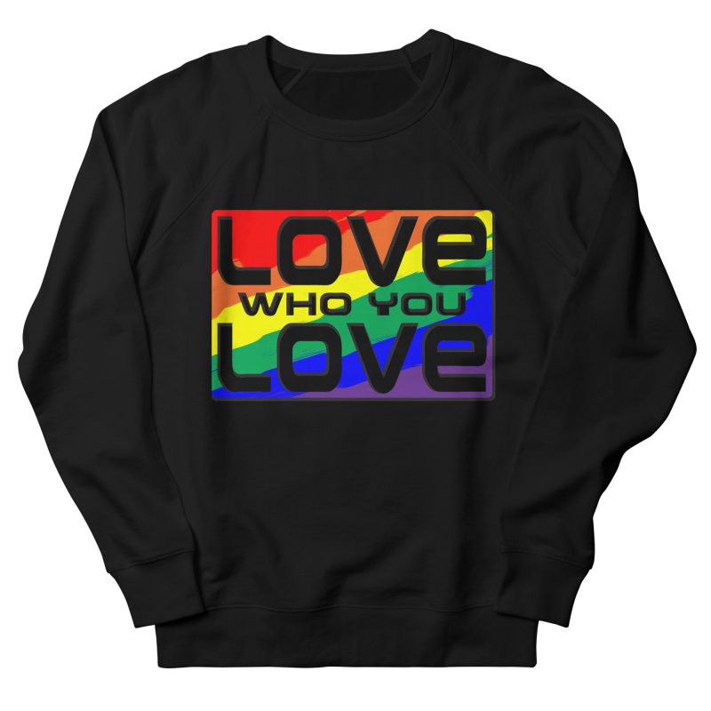 Love Who You Love - large square Men's Sweatshirt by Anapalana by Tona Williams Artist Shop