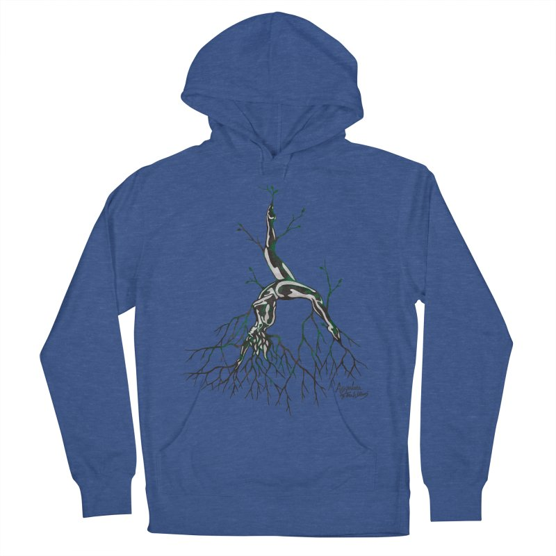 Tree Dancer 3 - Earth Tones Women's French Terry Pullover Hoody by Anapalana by Tona Williams Artist Shop