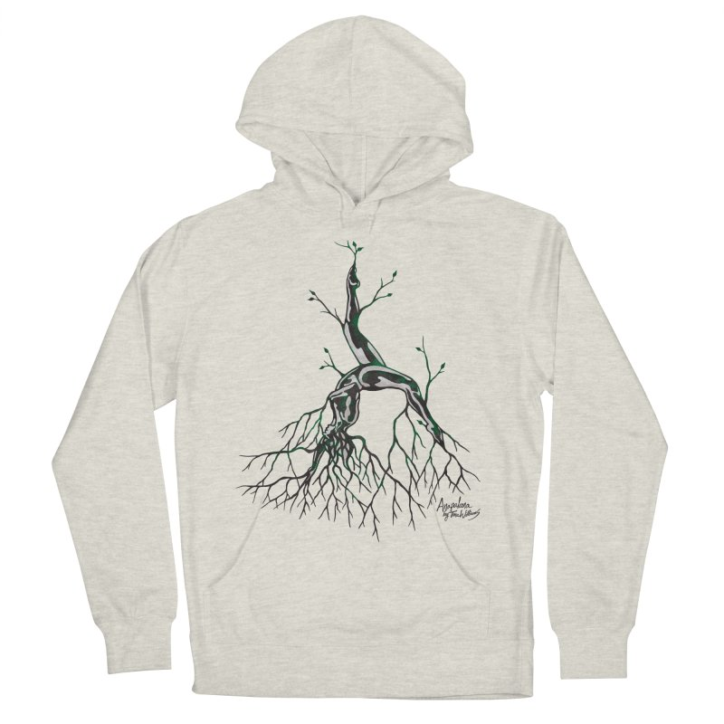 Tree Dancer 3 - Earth Tones Women's Pullover Hoody by Anapalana by Tona Williams Artist Shop