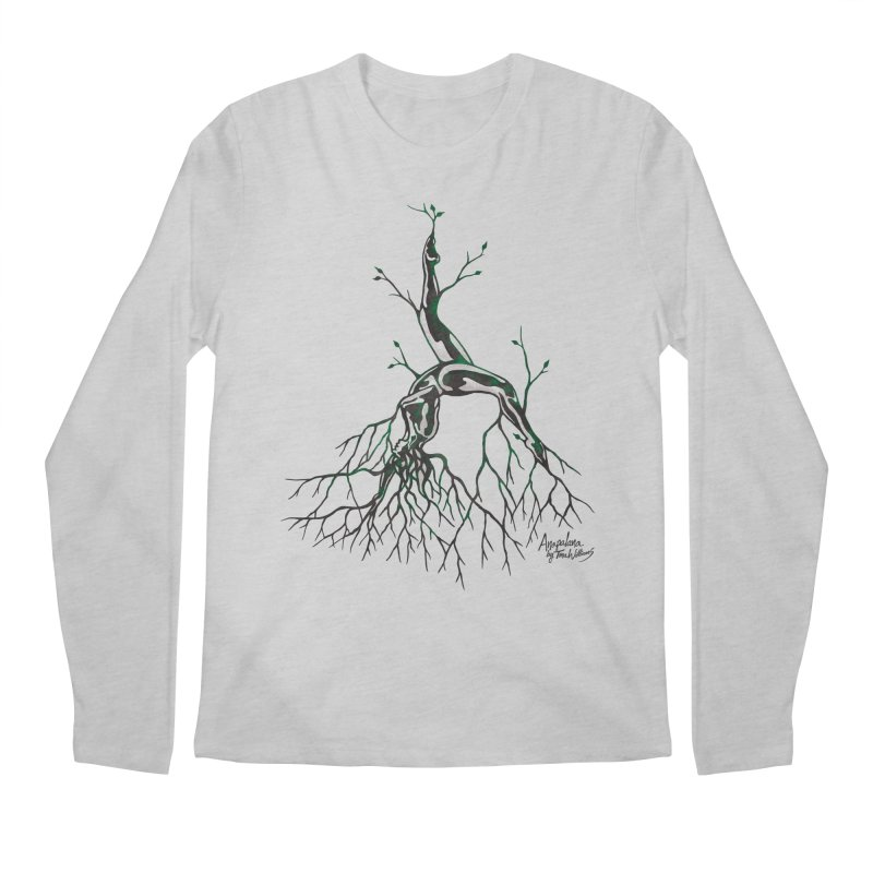 Tree Dancer 3 - Earth Tones Men's Longsleeve T-Shirt by Anapalana by Tona Williams Artist Shop
