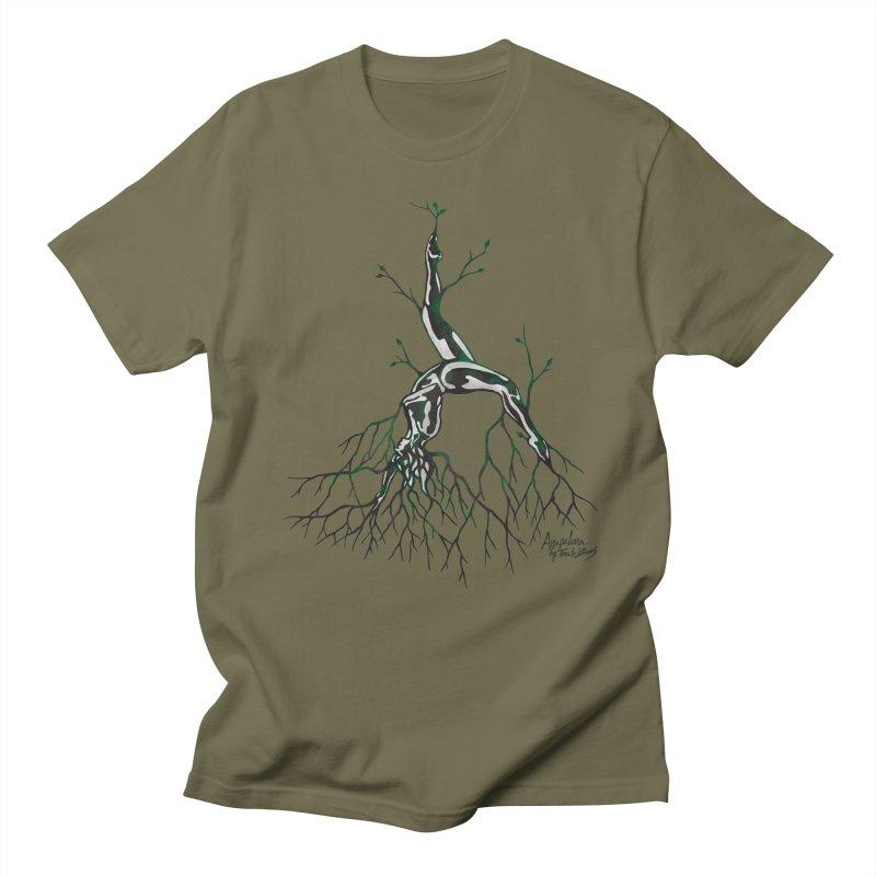 Tree Dancer 3 - Earth Tones Men's T-Shirt by Anapalana by Tona Williams Artist Shop