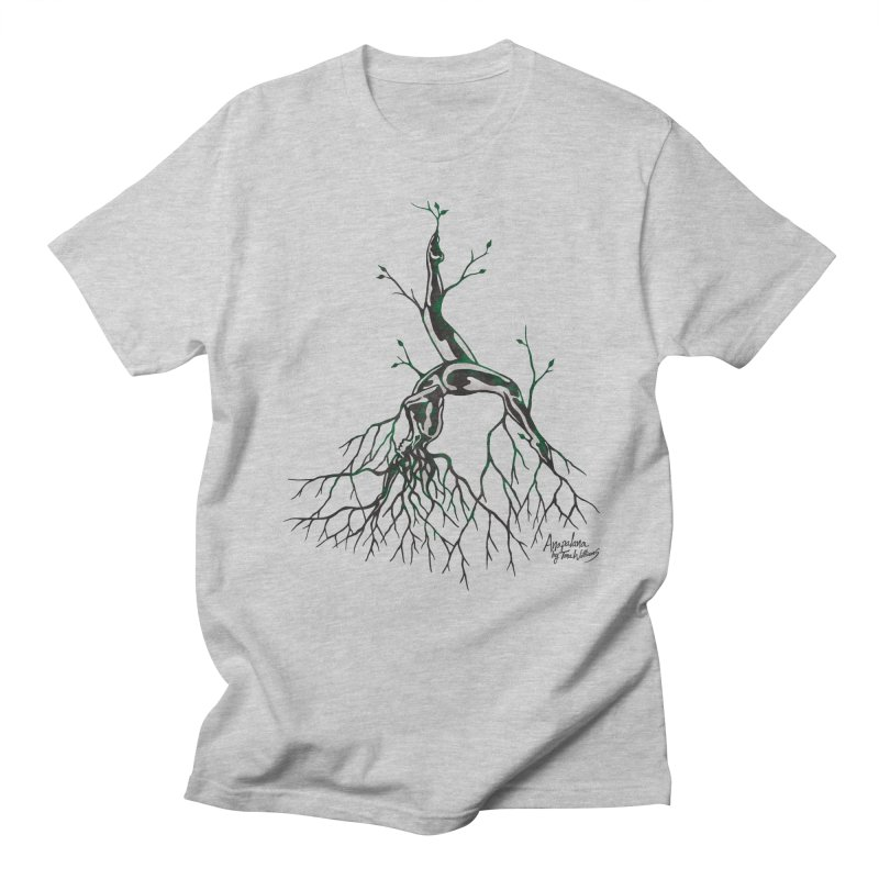 Tree Dancer 3 - Earth Tones Men's Regular T-Shirt by Anapalana by Tona Williams Artist Shop