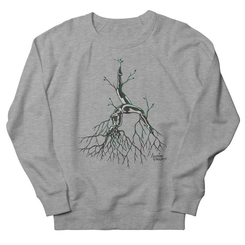 Tree Dancer 3 - Earth Tones Women's Sweatshirt by Anapalana by Tona Williams Artist Shop
