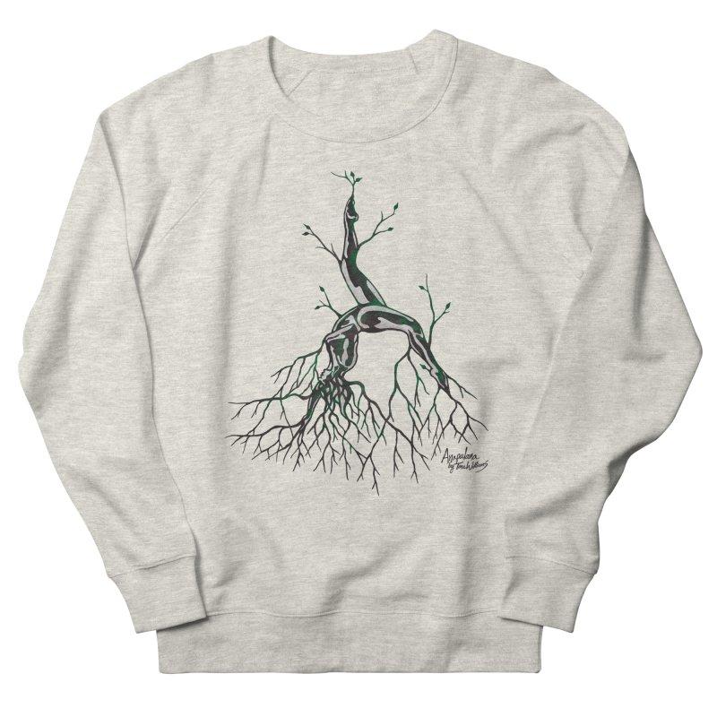 Tree Dancer 3 - Earth Tones Women's Sweatshirt by Anapalana by Tona Williams Artist Shop