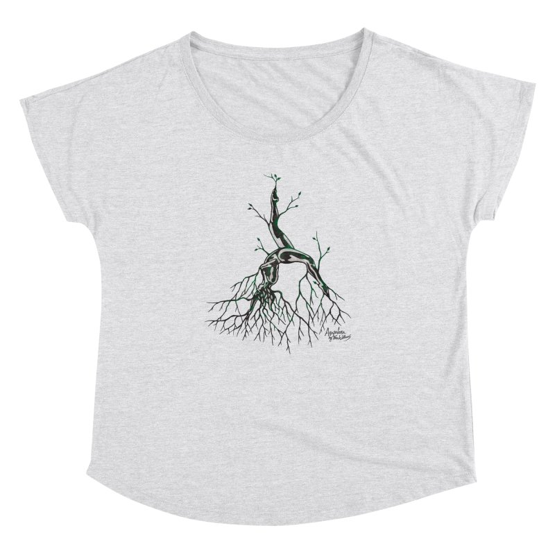 Tree Dancer 3 - Earth Tones Women's Dolman by Anapalana by Tona Williams Artist Shop