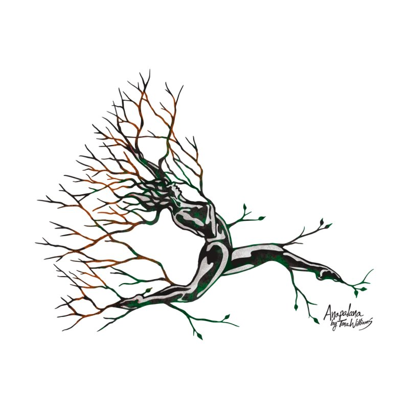 Tree Dancer 4 - Earth and Fire by Anapalana by Tona Williams Artist Shop