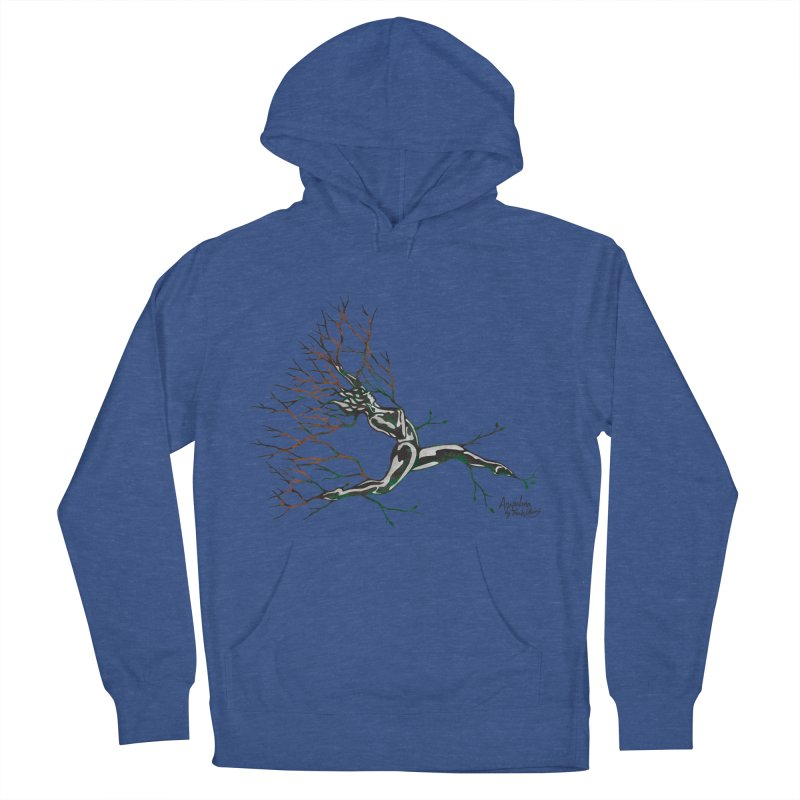 Tree Dancer 4 - Earth and Fire Women's Pullover Hoody by Anapalana by Tona Williams Artist Shop