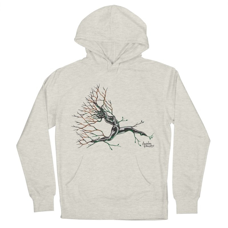 Tree Dancer 4 - Earth and Fire Women's French Terry Pullover Hoody by Anapalana by Tona Williams Artist Shop