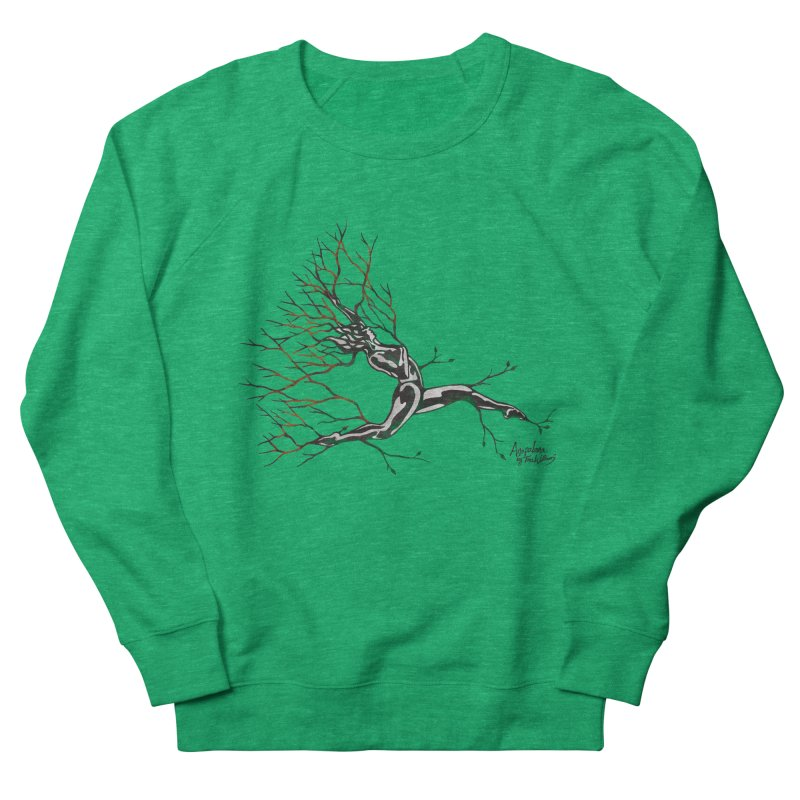 Tree Dancer 4 - Earth and Fire Women's Sweatshirt by Anapalana by Tona Williams Artist Shop