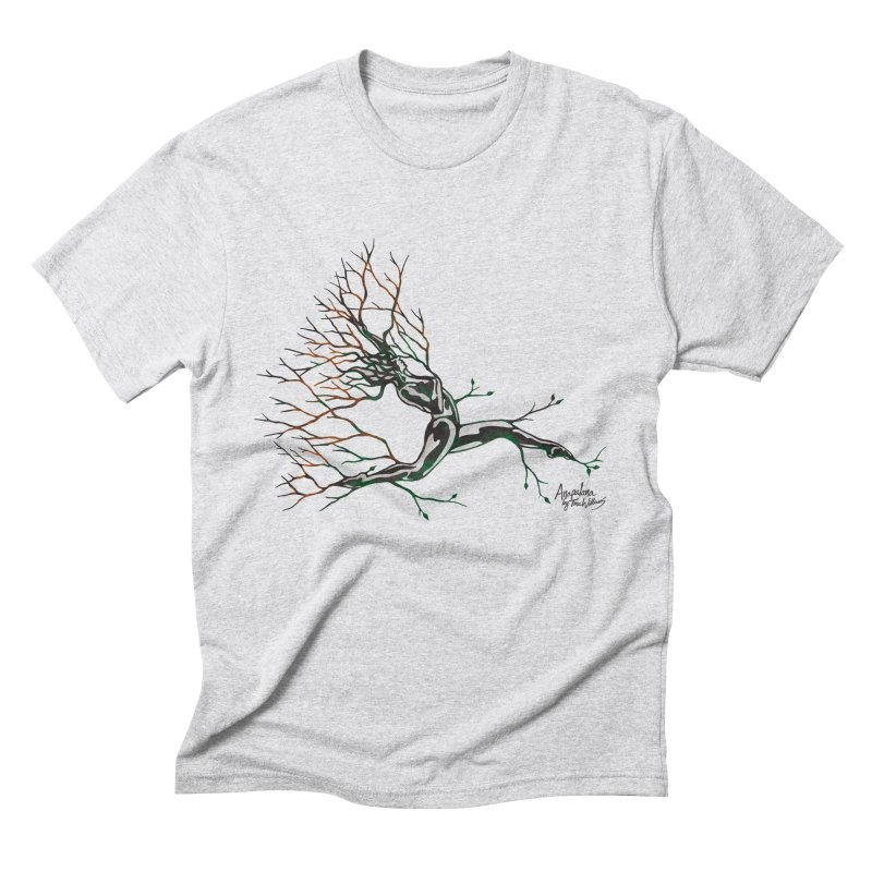 Tree Dancer 4 - Earth and Fire Men's Triblend T-Shirt by Anapalana by Tona Williams Artist Shop