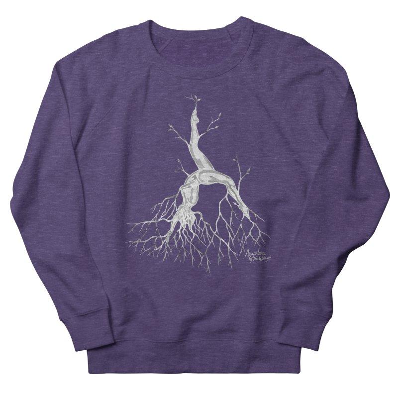 Tree Dancer 3 - White Tones Women's Sweatshirt by Anapalana by Tona Williams Artist Shop