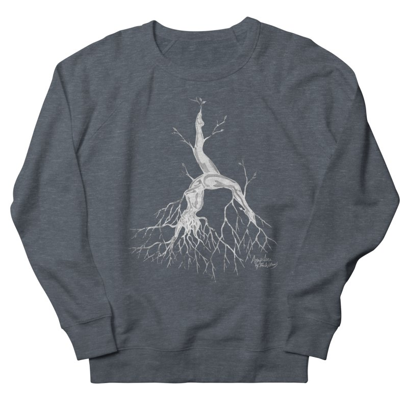 Tree Dancer 3 - White Tones Men's Sweatshirt by Anapalana by Tona Williams Artist Shop