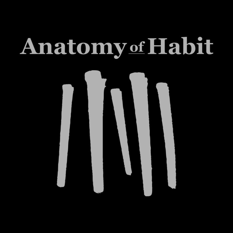 Anatomy of Habit - Five Nails - Grey Men's Pullover Hoody by Anatomy of Habit