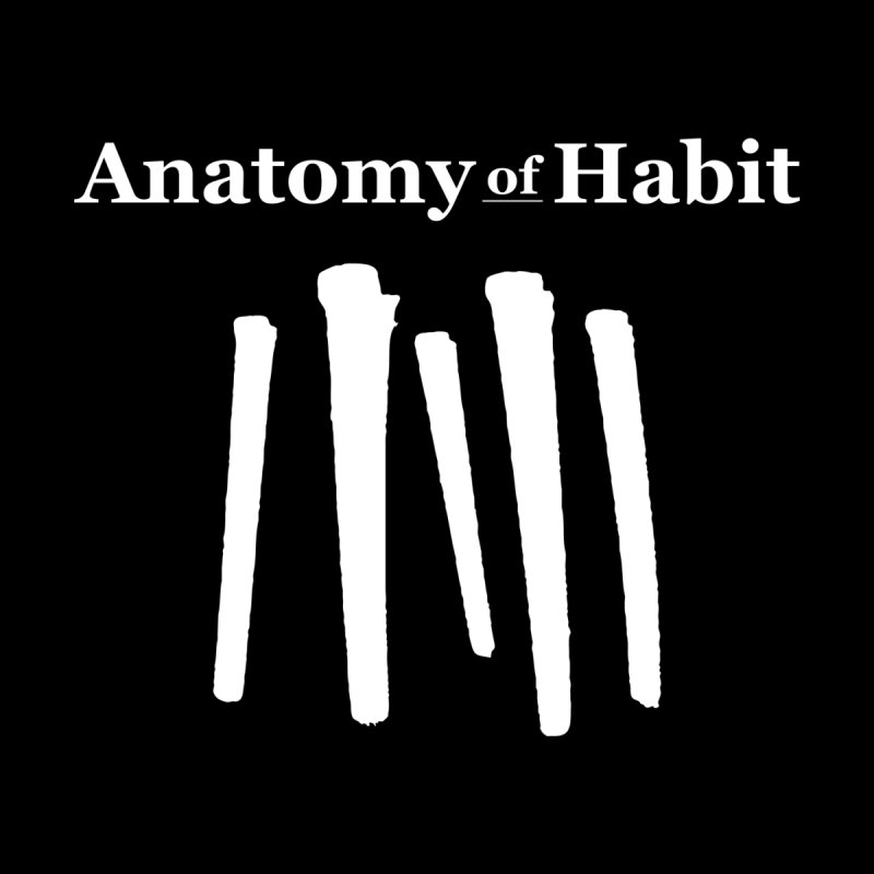Anatomy Of Habit - Five Nails - White Men's Pullover Hoody by Anatomy of Habit