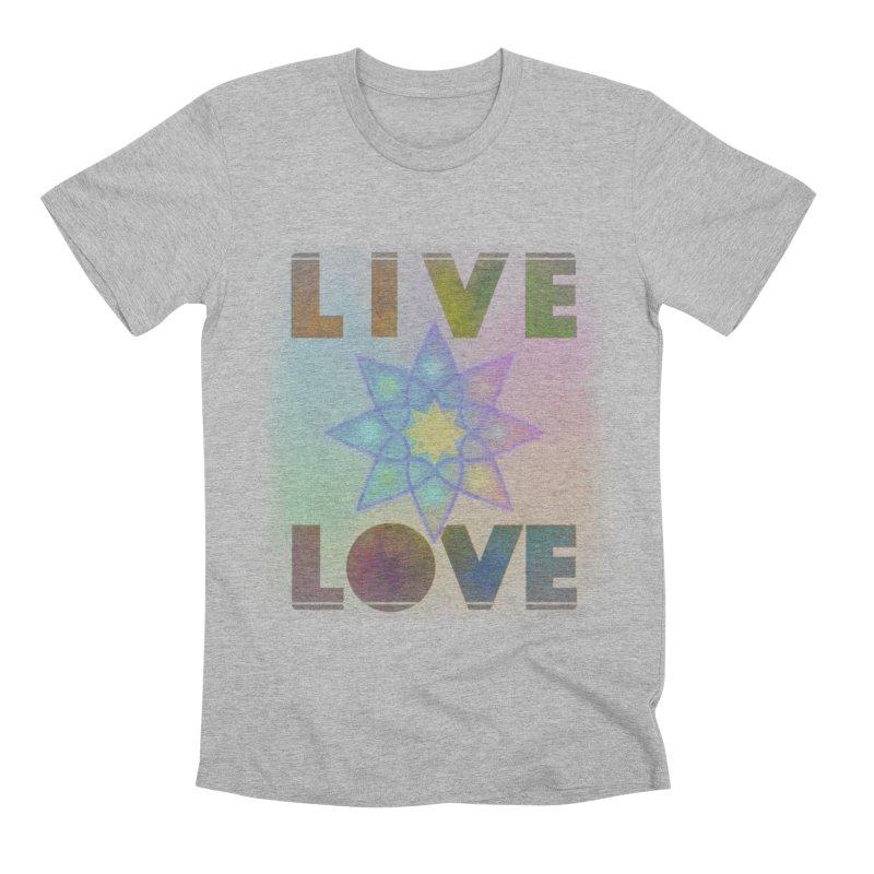 Live Love Octagram Men's Premium T-Shirt by An Authentic Piece