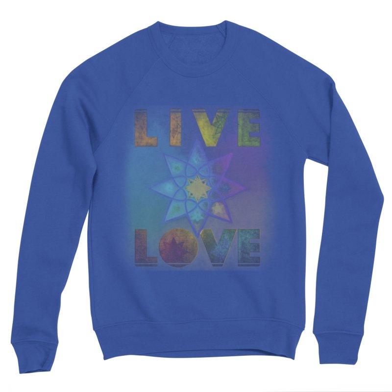 Live Love Octagram Women's Sweatshirt by An Authentic Piece