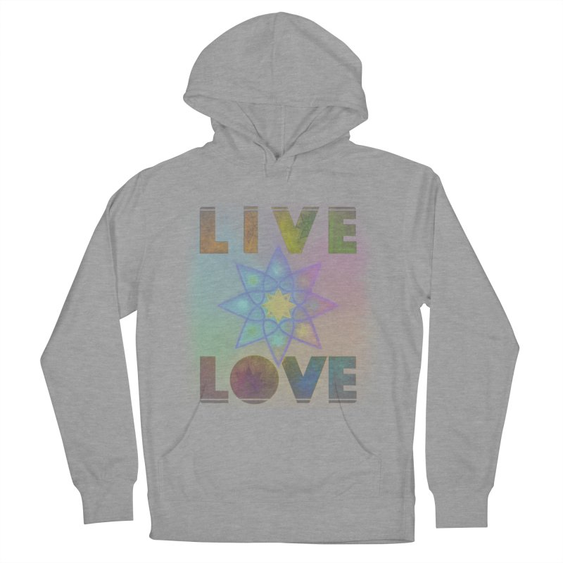 Live Love Octagram Women's Pullover Hoody by An Authentic Piece