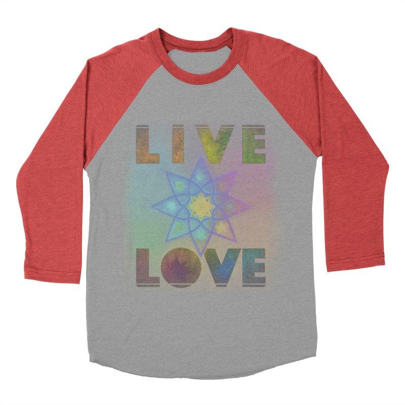 Live Love Octagram Men's Longsleeve T-Shirt by An Authentic Piece