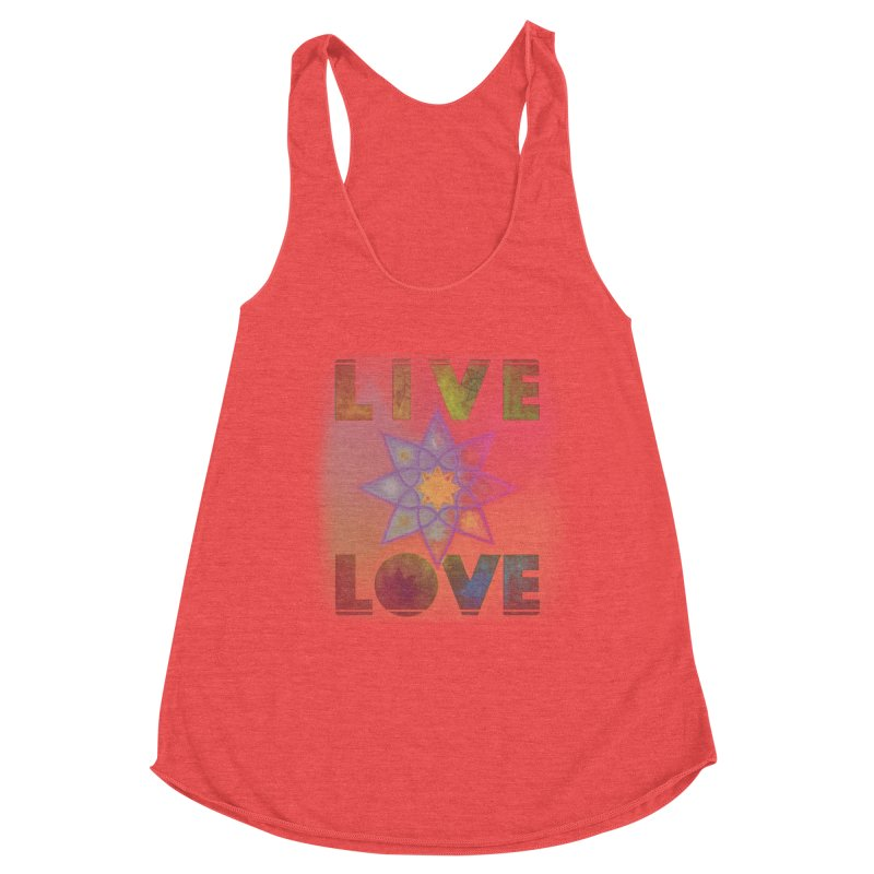 Live Love Octagram Women's Tank by An Authentic Piece