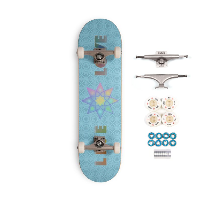 Live Love Octagram Accessories Complete - Premium Skateboard by An Authentic Piece