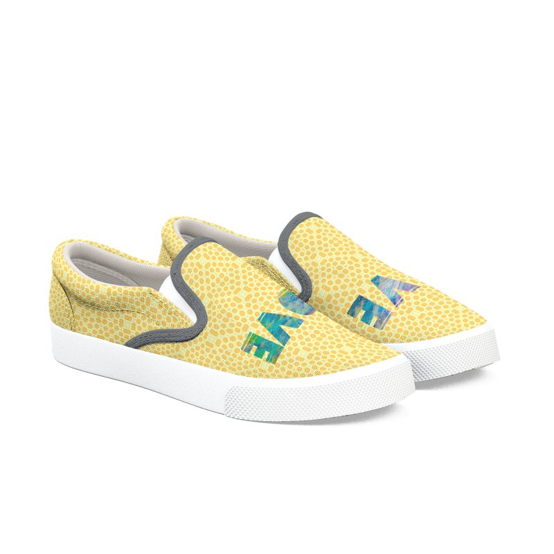 Live Love Men's Slip-On Shoes by An Authentic Piece