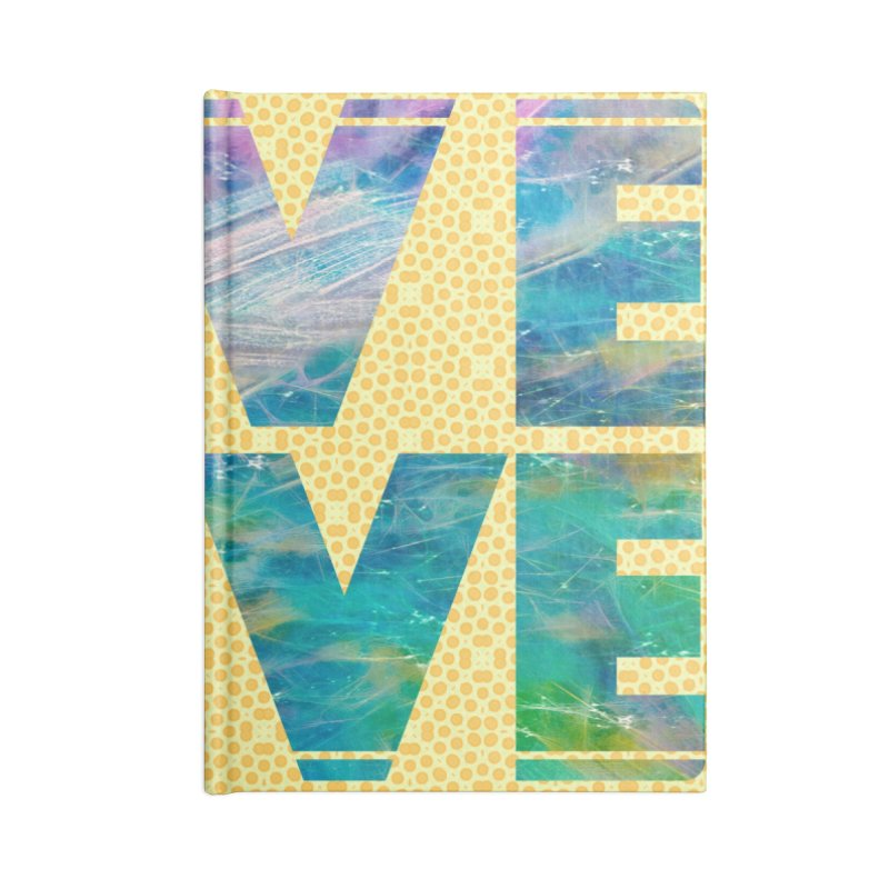 Live Love Accessories Blank Journal Notebook by An Authentic Piece