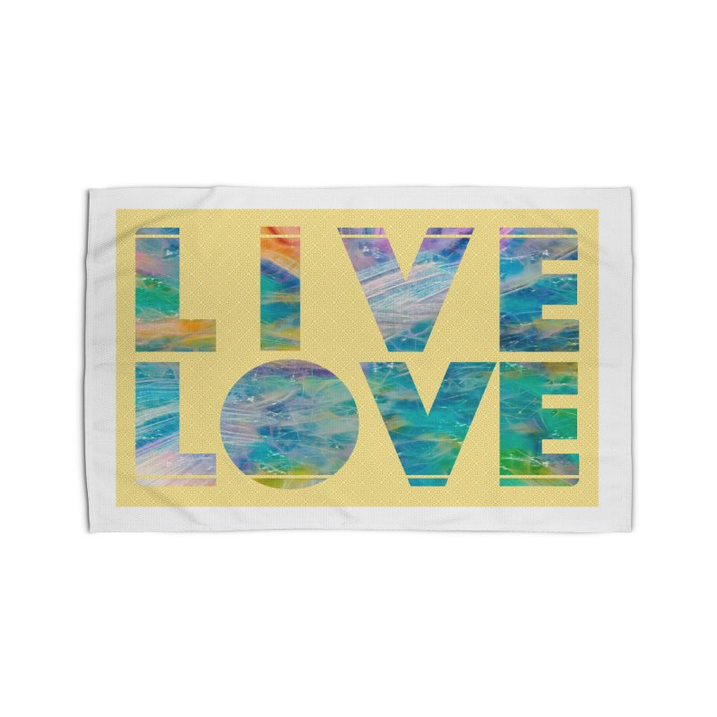 Live Love Home Rug by An Authentic Piece