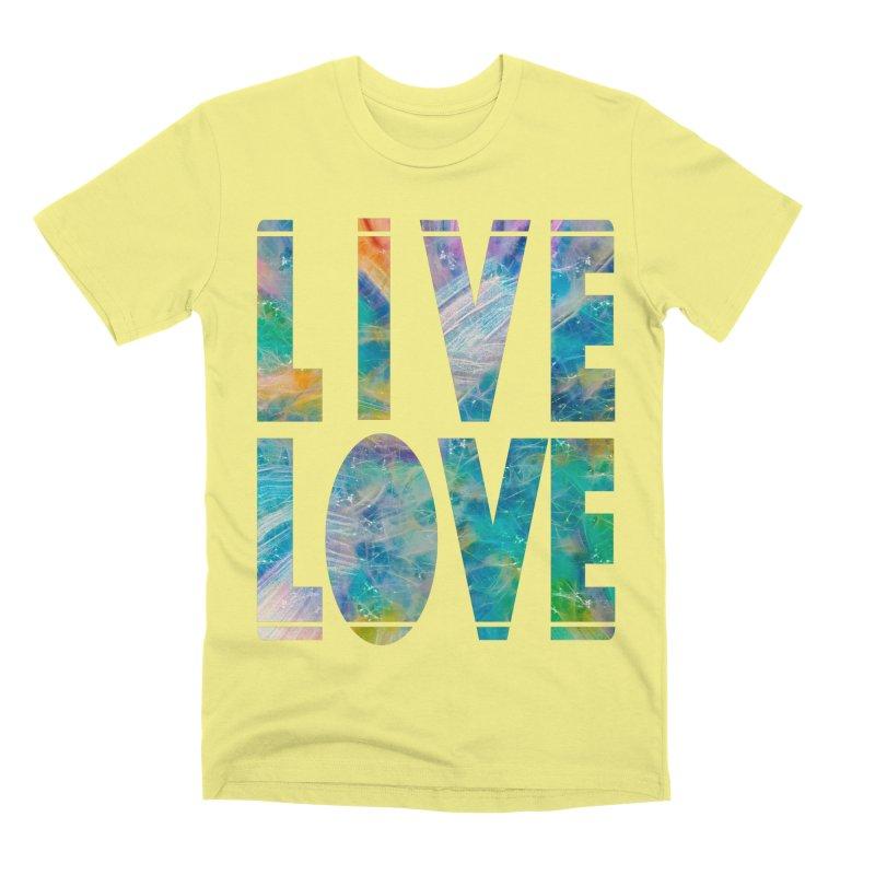 Live Love Men's Premium T-Shirt by An Authentic Piece