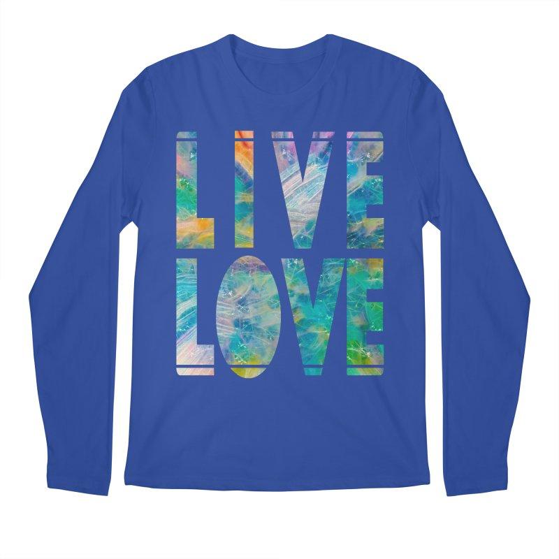 Live Love Men's Regular Longsleeve T-Shirt by An Authentic Piece