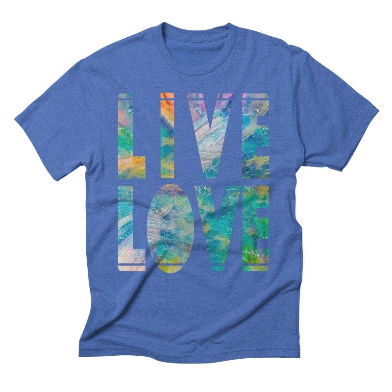 Live Love Men's T-Shirt by An Authentic Piece