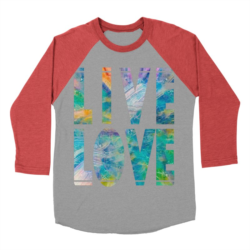 Live Love Men's Longsleeve T-Shirt by An Authentic Piece