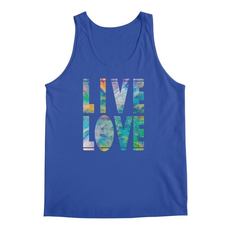 Live Love Men's Regular Tank by An Authentic Piece
