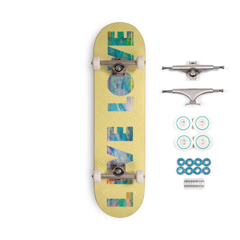 Live Love Accessories Complete - Basic Skateboard by An Authentic Piece