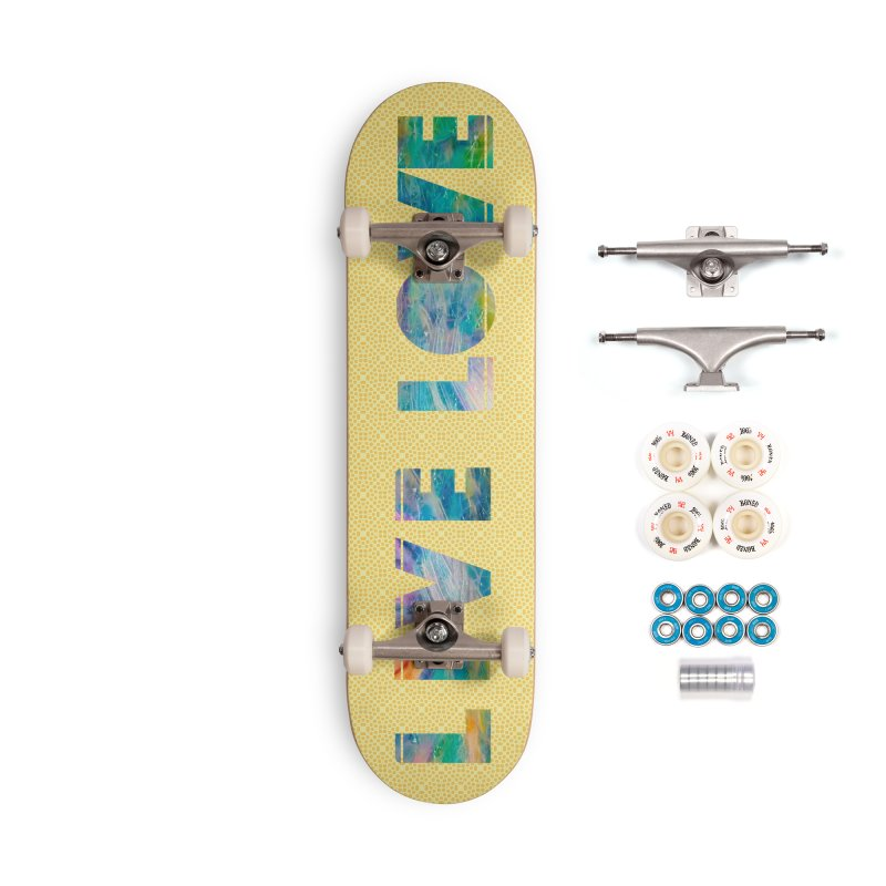Live Love Accessories Complete - Premium Skateboard by An Authentic Piece