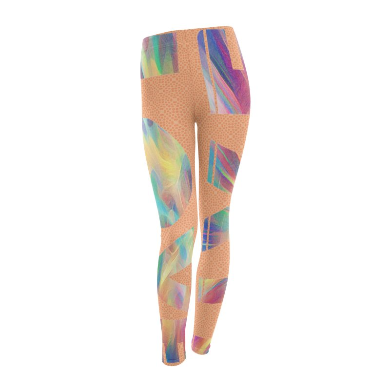 Live Love with Pride Women's Leggings Bottoms by An Authentic Piece