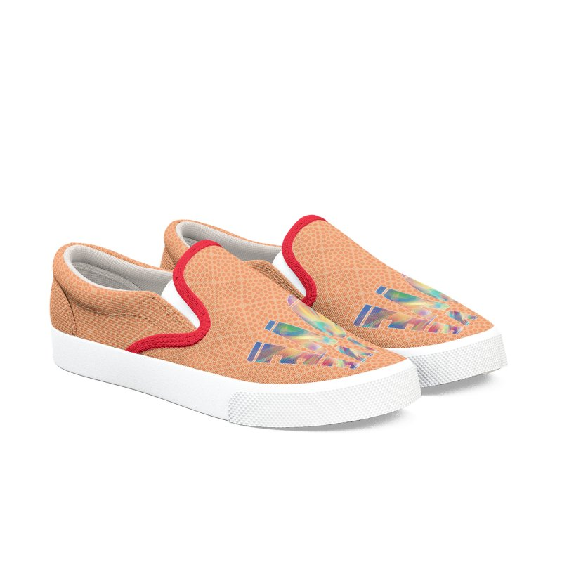 Live Love with Pride Men's Slip-On Shoes by An Authentic Piece