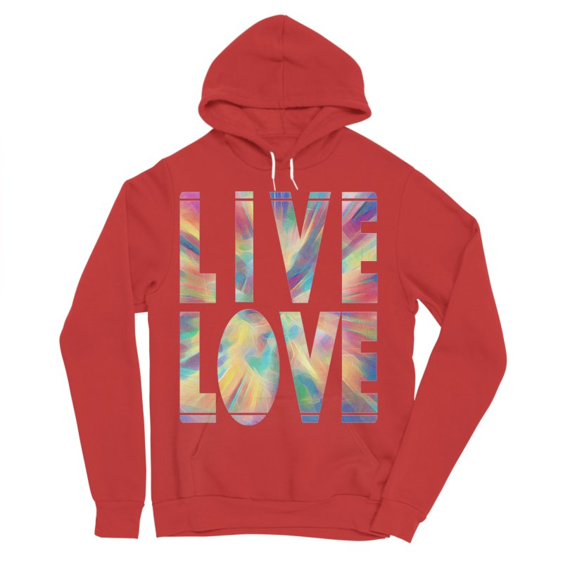 Live Love with Pride Men's Pullover Hoody by An Authentic Piece