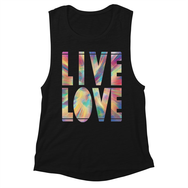 Live Love with Pride Women's Tank by An Authentic Piece