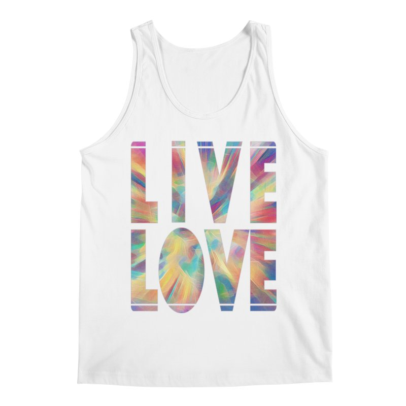 Live Love with Pride Men's Regular Tank by An Authentic Piece