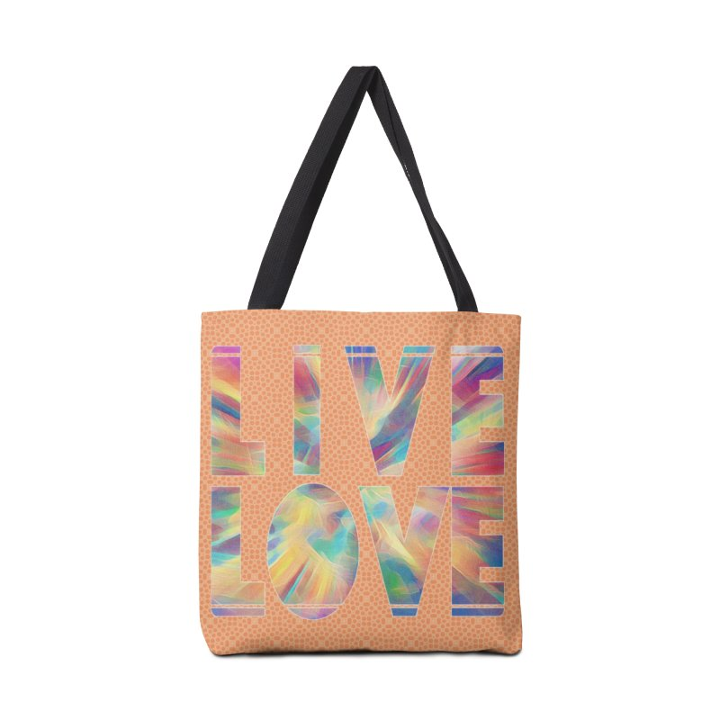 Live Love with Pride Accessories Tote Bag Bag by An Authentic Piece