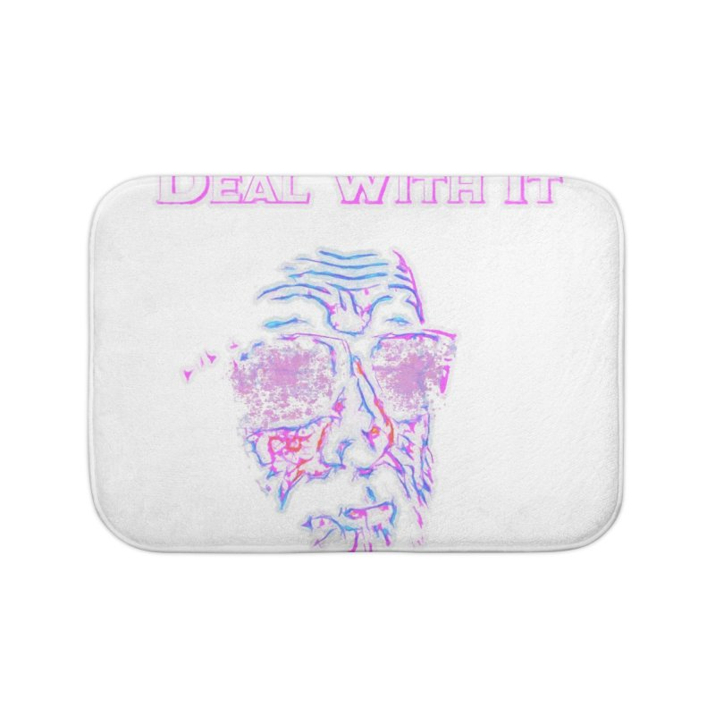 Deal With It Home Bath Mat by An Authentic Piece