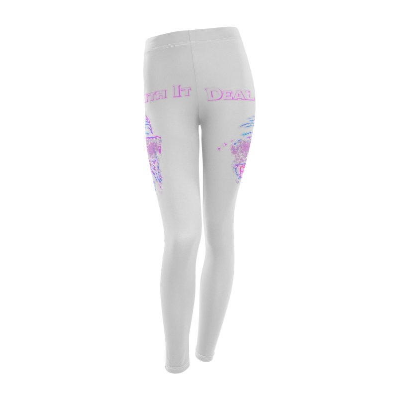 Deal With It Women's Leggings Bottoms by An Authentic Piece