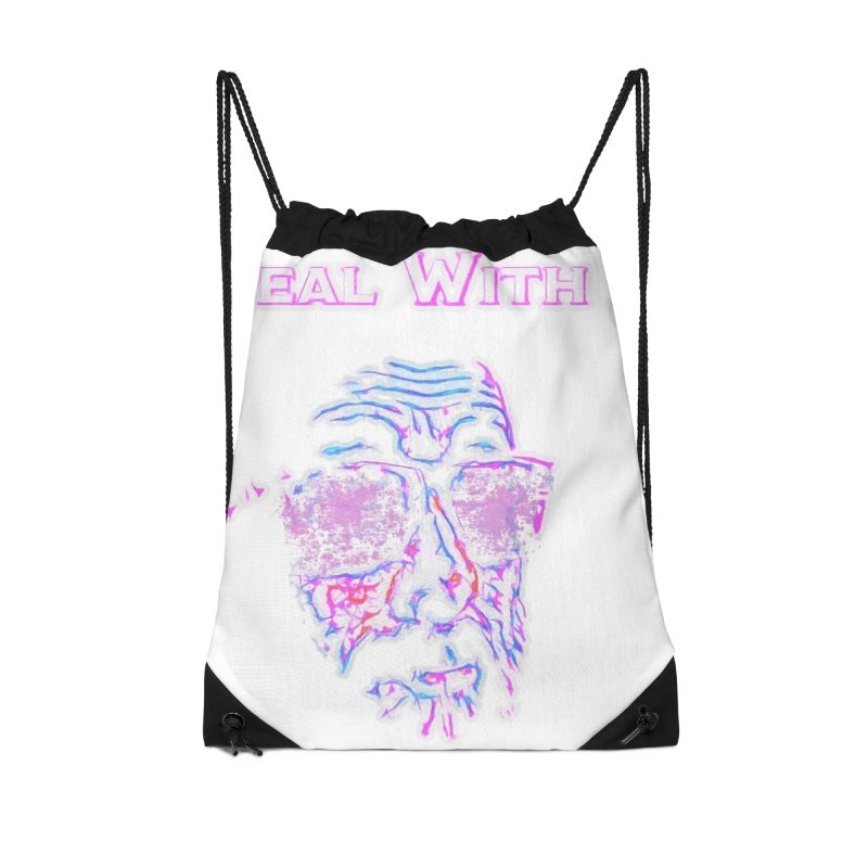 Deal With It Accessories Drawstring Bag Bag by An Authentic Piece