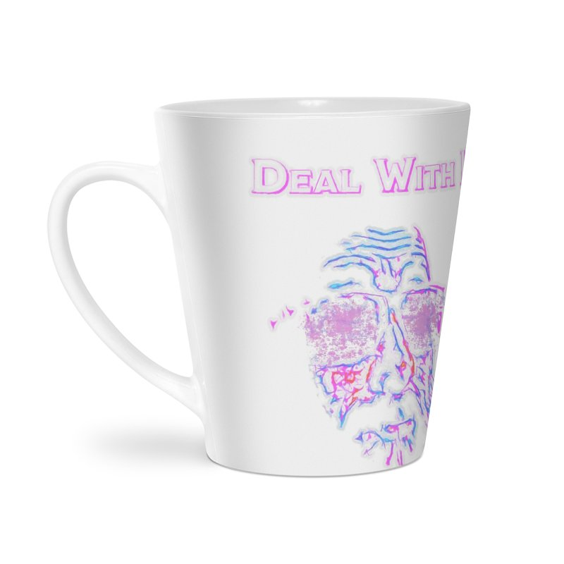 Deal With It Accessories Latte Mug by An Authentic Piece