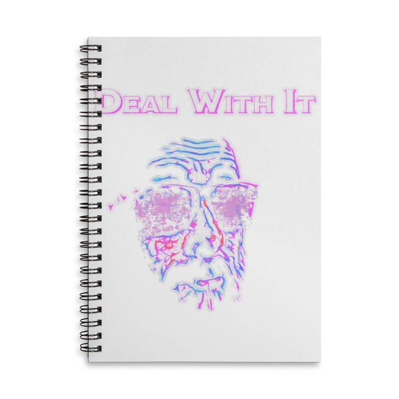 Deal With It Accessories Lined Spiral Notebook by An Authentic Piece