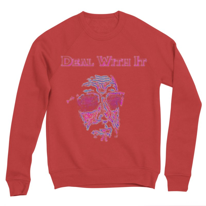 Deal With It Men's Sponge Fleece Sweatshirt by An Authentic Piece