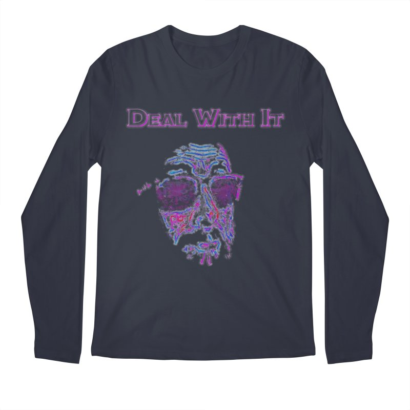 Deal With It Men's Regular Longsleeve T-Shirt by An Authentic Piece