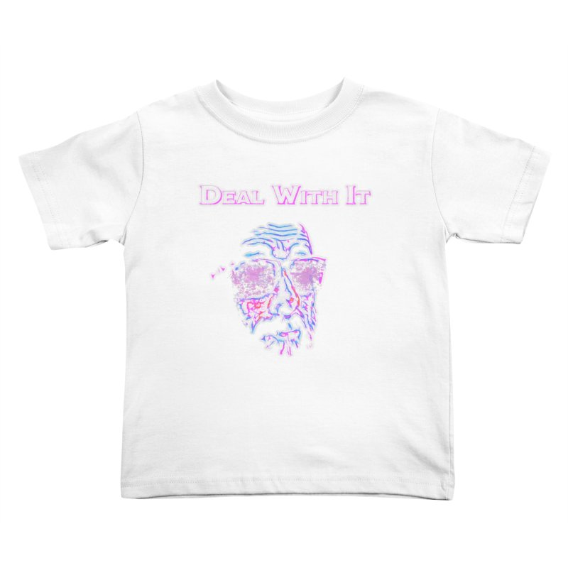 Deal With It Kids Toddler T-Shirt by An Authentic Piece